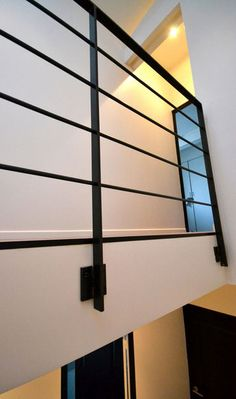 Flat bar steel rail - Garde corps interieur ...