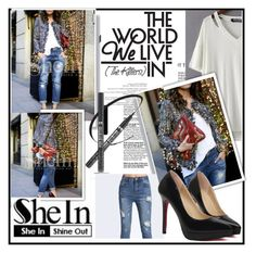 """SheIn 3"" by damira-dlxv ❤ liked on Polyvore featuring moda"