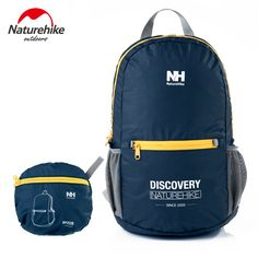 Naturehike Outdoor Sports Folding Foldable 15L Hiking Backpacks leisure School bag Climbing Backpack Ultralight Travel Bags #Affiliate