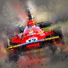 #racingart #ferrari #lauda