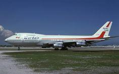 C-FTOB (Wardair) Airbus A380, Boeing 747, Air Atlanta Icelandic, Air Travel, Airports, Spacecraft, My Dad, Airplanes, Aviation