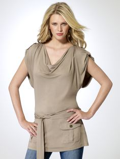 50% OFF | Utility Tunic Top |