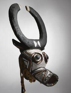 Bwa Buffalo Mask, Burkina Faso Luc Orient, African Museum, Indian Face, African Masks, Global Art, Native Art, Headdress, Folk Art, Modern Art