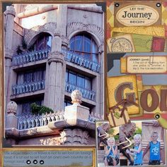 Going+places+by+Desire+Vorster+@2peasinabucket Scrapbook Layouts, Scrapbooking, Places To Go, Painting, Ideas, Art, Art Background, Painting Art, Kunst
