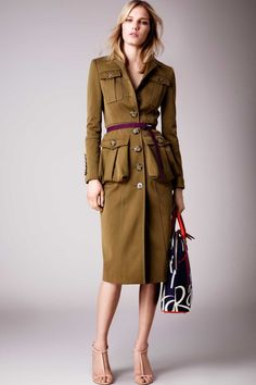 All the runway looks from Burberry Prorsum: London Ready-to-Wear Resort 2015