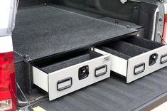 A.R.E. Pickup Vault installation