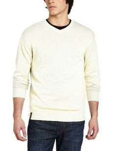 Akademiks Men's Troy V-Neck Sweater