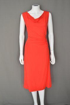 Adrienne Vittadini Jersey Ruching Wrap Dress