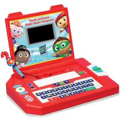 Learning Curve Brands Super Why - Touch and Learn Super Duper Computer >>> Want to know more, click on the image. (This is an affiliate link) #ElectronicLearningEducationToys