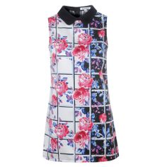 Shop Women's Dresses | My Style Union  Collared floral & grid print dress by Glamorous  www.mystyleunion.com