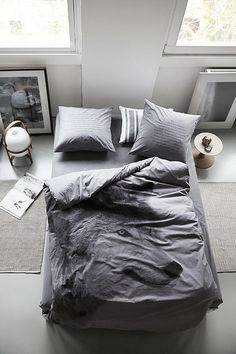 Obviously, I need a wolf comforter.   By Nord by decor8, via Flickr
