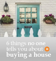 6 things no one tells you when you buy a house for the first time - including how much of a mortgage you can truly afford. Top Real Estate Companies, Real Estate Tips, Selling Real Estate, First Time Home Buyers, Home Buying, Told You So, Canning, Outdoor Decor, Stuff To Buy