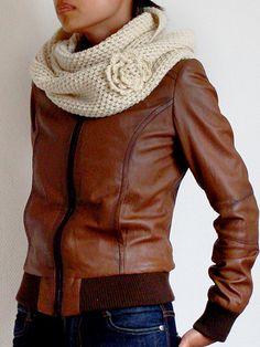 Cafecito y Crochet primera clase bufanda infinita! - Univision Foros   Forums - 514428230