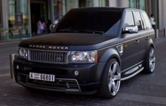 Range Rover Black Matte