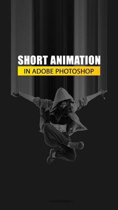 Graphic Design Lessons, Graphic Design Tools, Graphic Design Tutorials, Graphic Design Posters, Photoshop Animation Tutorial, Photoshop Video, Photoshop Design, Magazin Design, Digital Art Tutorial