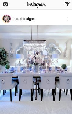 Can You Mix Metals In Home Decor dining room ambient lighting Dining Room Table Decor, Elegant Dining Room, Luxury Dining Room, Dining Room Design, Dining Room Furniture, Living Room Decor, Dining Rooms, Dining Chairs, Room Interior