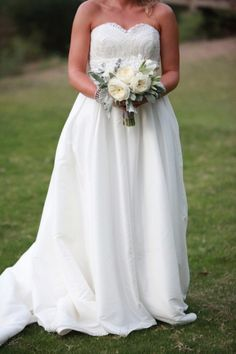 Custom Made Wedding Dress by Bridal Bliss Designs