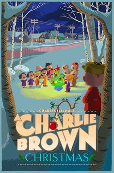 A Charlie Brown Christmas by Laurent Durieux