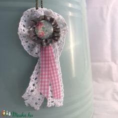 Rózsás nyaklánc  (kiseri) - Meska.hu