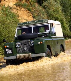 Sunday drive for the Rover in Action