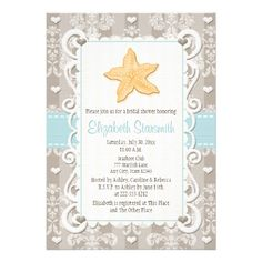 This DealsBlue Starfish Bridal Shower Invitationslowest price for you. In addition you can compare price with another store and read helpful reviews. Buy