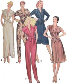 1980s Jumpsuit Dress and Sash sewing pattern by retroactivefuture, $8.00
