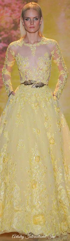 Zuhair Murad, Haute Couture Spring 2014, Paris France
