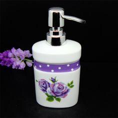 Ceramic white color 350ml pump soap dispenser modern soap dispenser lotion bottle dispenser $19.49