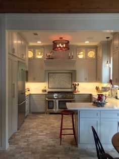 ... Cabinet Color Mindful Grey SW, Walls Shoji White SW, Beveled Subway  Tile Lowes, Herringbone Marble Lowes, Hardware Lowes, Brick Flooring CIR 10  X 20 ... Part 49