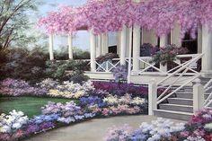 Garden Veranda by Diane Romanello