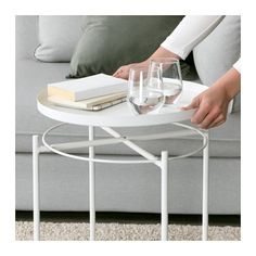 IKEA GLADOM Tray table - White - Urban Sales Nz