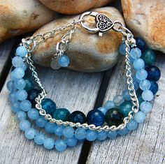ONLY 1 AVAILABLE Handmade Blue turquoise by SitarasCollection