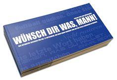 Gutscheinbuch für Männer: WÜNSCH DIR WAS! :: auf ztyle.de