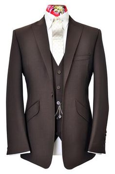 The Ashmore Mocha Brown Suit