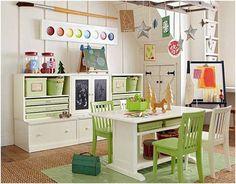 green kids plaroom ideas 35 Adorable Kids Playroom Ideas