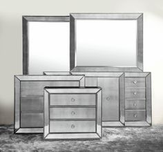 Introducing our new Omni mirrored cabinets, a striking use of style and restraint.
