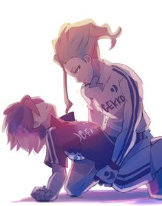 Image Couple, Photo Couple, Inazuma Eleven Go, Best Series, Anime Guys, Chibi, Cool Art, Cute, Non Fiction