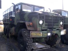 BMY 5 Ton cargo truck on GovLiquidation! Us Army Vehicles, Armored Vehicles, Military Surplus, Military Army, Dragon Wagon, 6x6 Truck, Offroad, Expedition Truck, Dodge Power Wagon