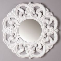I pinned this Gisele Mirror in White from the Maison Maison event at Joss and Main!