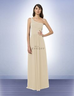 Bill Levkoff Bridesmaid Dress Style 771 in champagne. For Holli?