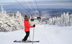 Killington Vermont skiing largest NE resort, 6 mos of skiing