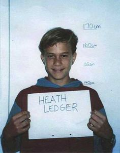 [On the 10th Anniversary of his death] Heath Ledger 1992