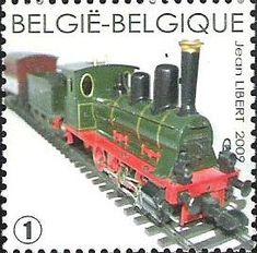 "belgian stamps Trains in miniature. 'Loco Tender Bavaroise ""aloisus"" - Marklin 1995-1998 '"