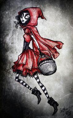 Little Red Riding Hood by Lithium-Tears.deviantart.com on @deviantART