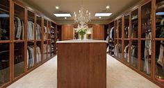 Luxury Walk-in Closet  #LuxuryHomes