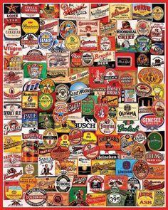 beer label art - Buscar con Google