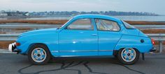 Photos, history and profile of the 1970 SAAB 96 Rally Car, similar to the ones that raced in the Monte Carlo rallies.