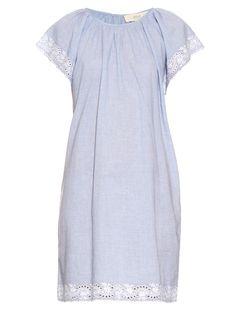 Emido broderie-anglaise dress | Vanessa Bruno Athé | MATCHESFASHION.COM UK