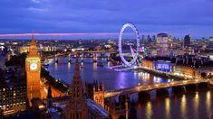 Descubra #Londres após o anoitecer, a luzes da cidade são um encanto.