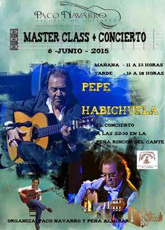 FUNDACIÓN GUITARRA FLAMENCA www.fundacionguitarraflamenca.com   ESCUELA PACO NAVARRO Master Class Pepe Habichuela.
